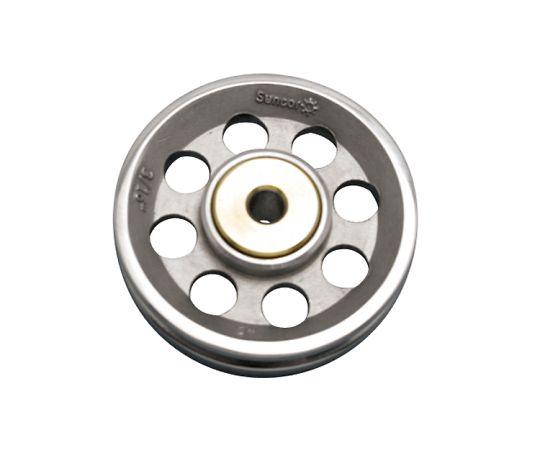 9.5×9.5×57mmロープシーブ(ステンレス製)