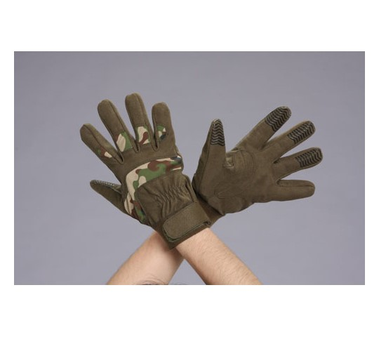 手袋(合成革/カモフラージュ)