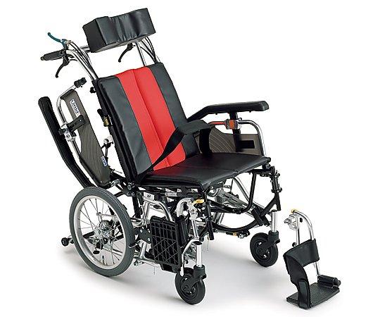 ティルト&リクライニング車椅子 (介助式/アルミ製/座幅400mm) TRC-2