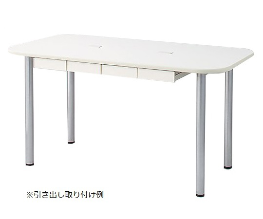 ナーステーブル(天板配線穴有) 1200×900×750mm