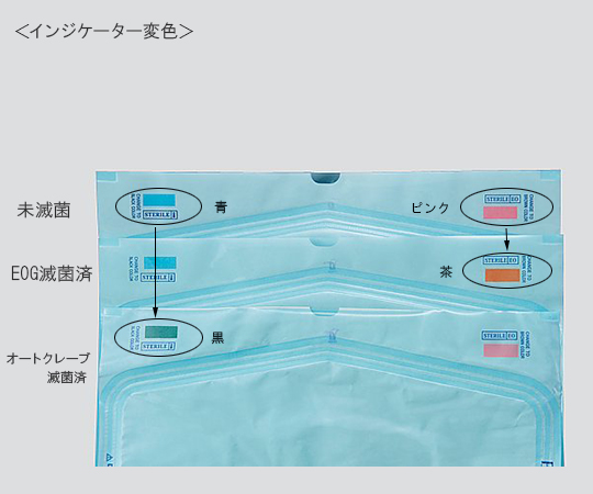 プロシェア滅菌バッグ 90×260mm PMB-3