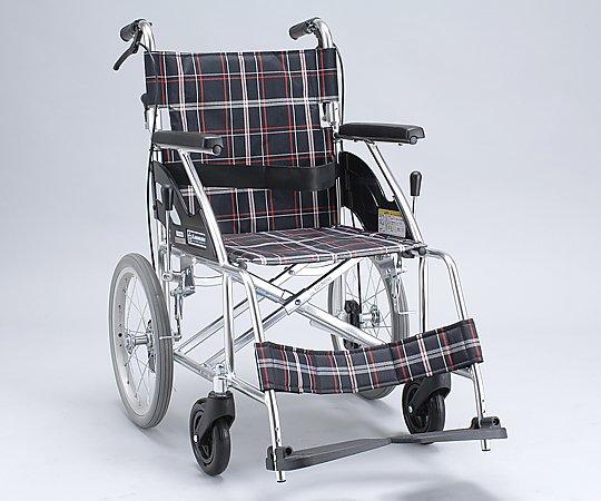 車椅子 (介助式/アルミ製/背折れタイプ/ノーパンクタイヤ)