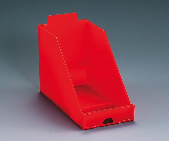 MDS調剤台[トレー] オープントレーL 赤 98×195×130mm