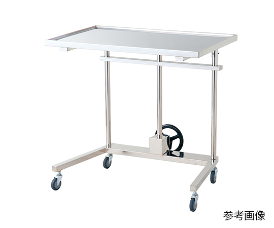 NVメーヨー型消毒盤台 (手動昇降式) NV-S1200M-N