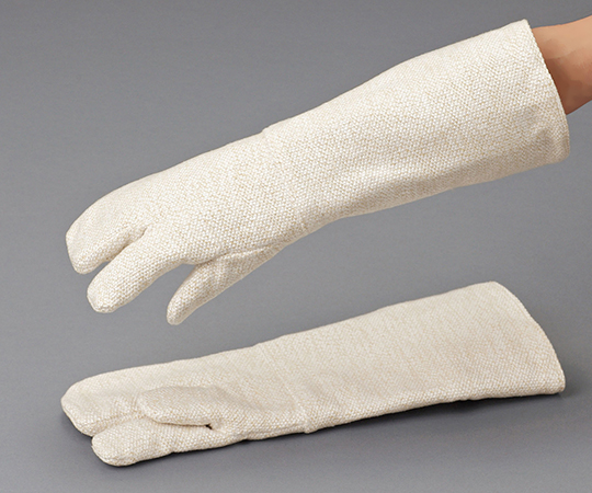テクノーラ耐熱手袋 ロング(全長450mm) 3本指