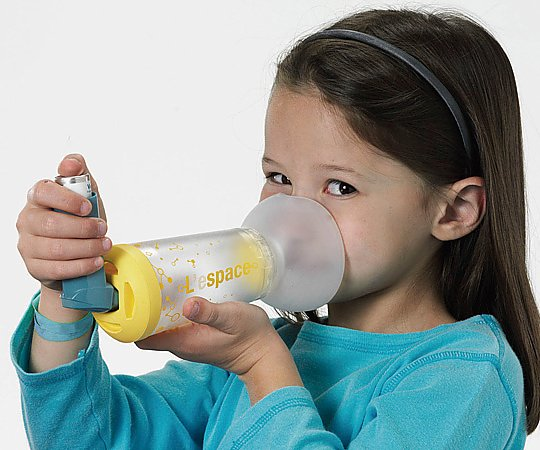 MDI用吸入補助器具(レ・スペース) 2~6歳対象