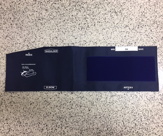 水銀イメージ血圧計DM-3000用腕帯 L A113497-1-D