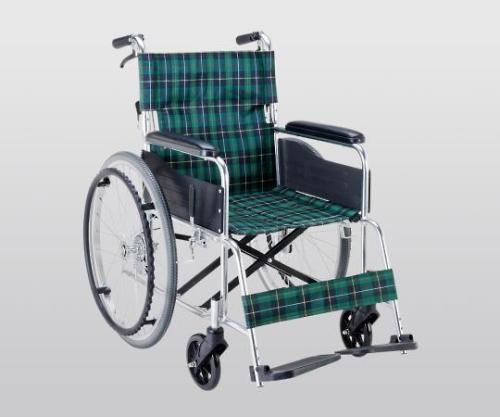 車椅子(アルミ製・背折れタイプ) 660×995×875