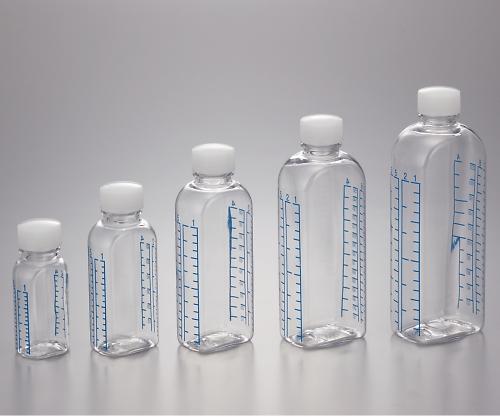 クリアボトル投薬瓶(カラー目盛付き・電子線滅菌済)