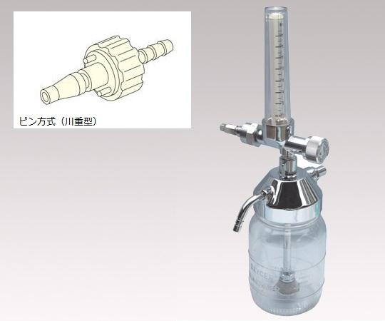 酸素流量計F302Pピン方式川重型