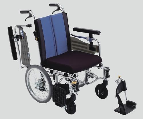 ウイングスイングアウト車椅子(アルミ製) 介助式 BAL-10
