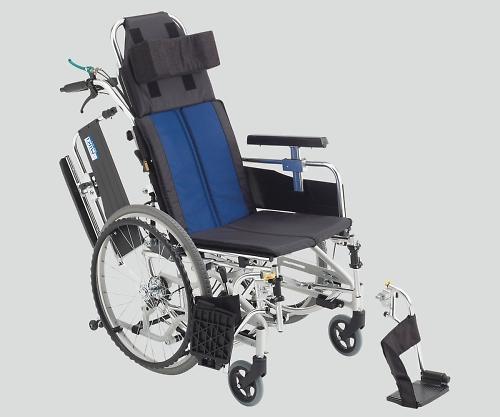ティルト&リクライニング車椅子(アルミ製) 自走式 BAL-11