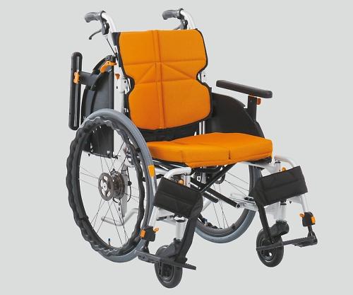 車椅子 ネクストコア・アジャスト オレンジ NEXT-51BA F1