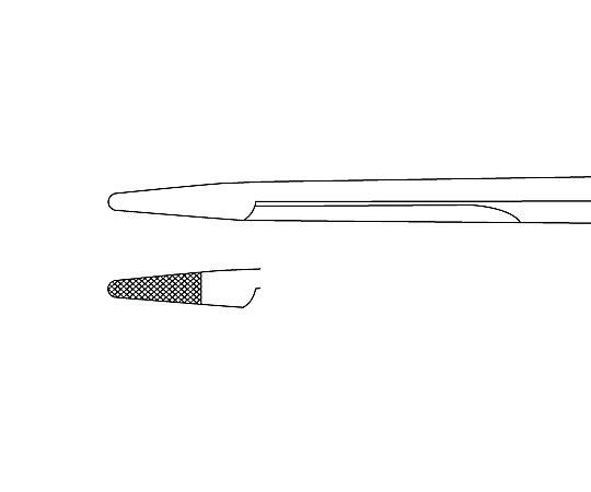 剪刀付き持針器(ヘガール・オルソン) 145mm