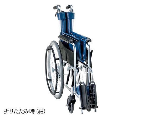 車椅子(アルミ製) ナイロン(緑チェック) EW-20GN