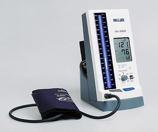 水銀柱イメージ・デジタル血圧計 DM-3000