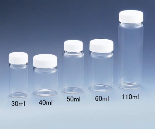 硝子スクリュー管瓶
