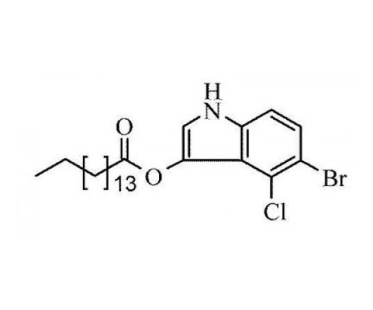 5-Bromo-4-chloro-3-indoxyl palmitate, 0.1 G RC-525