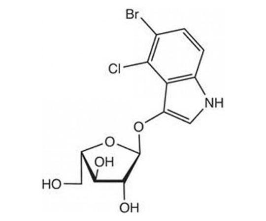 5-Bromo-4-chloro-3-indoxyl-alpha-L-arabinofuranoside, 0.025 G RC-563
