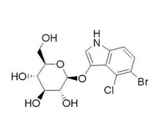 5-Bromo-4-chloro-3-indoxyl-beta-D-glucopyranoside, 10 G RC-579