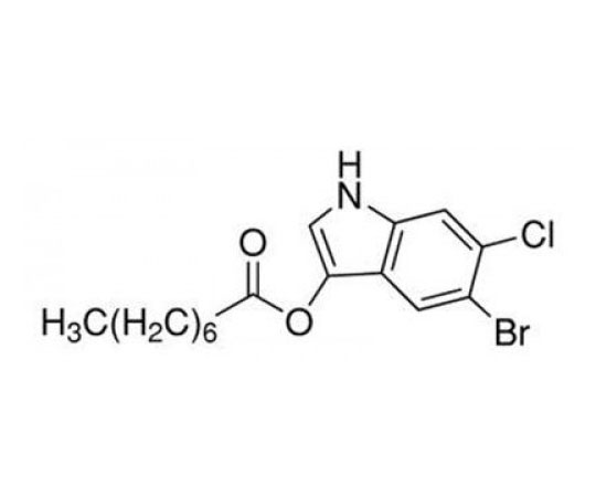5-Bromo-4-chloro-3-indoxyl-beta-D-glucuronic acid, sodium salt trihydrate, 25 G RC-592