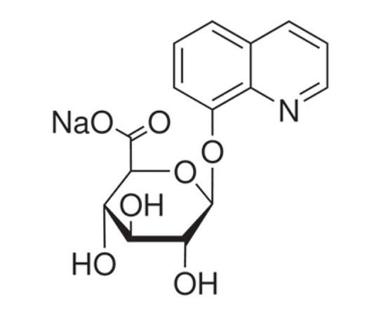 8-Hydroxyquinoline-beta-D-glucuronic acid, sodium salt, 5 G RC-648