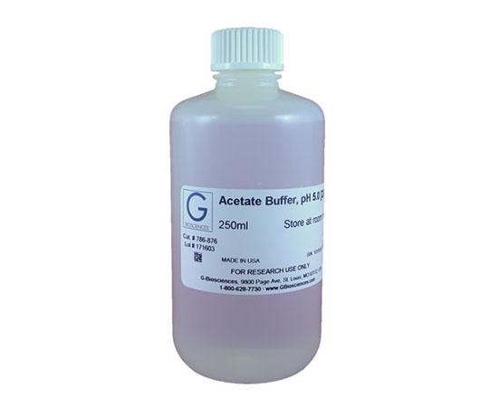 Acetate Buffer, pH 5.0 [200mM], 250mL 786-876