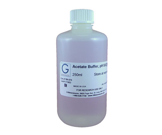 Acetate Buffer, pH 5.5 [200mM], 250mL 786-877