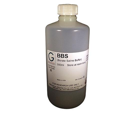 BBS [2X] (400mM Boric acid, 300mM NaCl, 5mM EDTA), 500mL 786-523