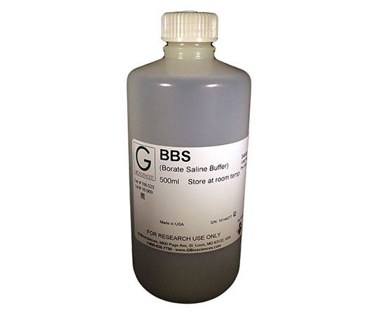 BBS [2X] (400mM Boric acid, 300mM NaCl, 5mM EDTA), 1 Liter 786-524