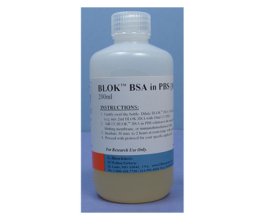 BLOK BSA in TBS [10X], 125mL 786-193