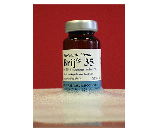 Brij(R) 35 (Polyoxyethylene(23)lauryl ether), 10% Aqueous Solution (Proteomic Grade), 5 x 10mL Vials DG003