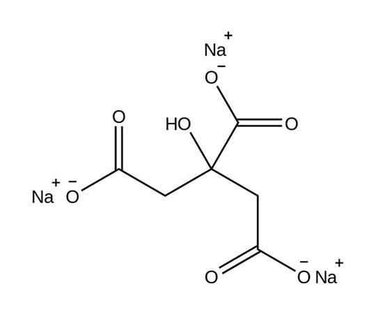 Citric Acid- trisoldium dihydrate , ACS Grade, 500g RC-040