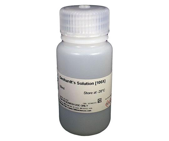 Denhardt Solution [100X] (2% Ficoll 400, 300mM NaCl, 2% polyvinylpyrrolidone, 2% BSA), 50mL 786-525