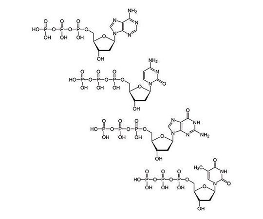 Deoxynucleotide Mix [25mM], 1ml, 25µmole 786-457