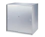 ステンレス収納庫(深型) ステンレス引違い戸 SS-09SD650