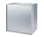 Stainless Steel Storage Stainless Steel Double Sliding Door SS-09SD650