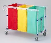 分別カラーカート 専用袋 120L ビーニル防水 黄