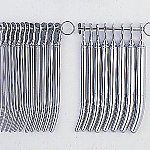 子宮頸管拡張器 日母型ヘガール 20本セット 1~20号
