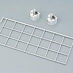 ヨ-ロピアンカ-ト用ワイヤ-ホルダ- サイドハンガ-ネット 392×150mm