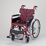 車椅子 (自走式/カラーアルミ製/背折れタイプ) BM22-40SB-M