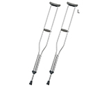 Crutch L 2 Pieces, Applicable Height (Reference): 178 to 198cm and others