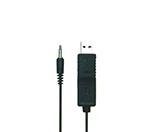 データロガー温度計(4チャンネル)用 USBケーブル USB-01