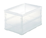 Foldable Container Clear without Lid and others
