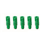 Safety Cap (For GL45 Bottle) Replacement Fitting (Green Color) φ1.6mm 5 Pcs and others