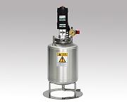 撹拌機付ステンレス加圧タンク