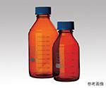 ねじ口瓶丸型茶褐色(デュラン(R)・017210)