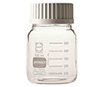 Wide-Mouth Screw-Top Bottle (DURAN(R)) Cap White 500mL Safety Coat Specification and others