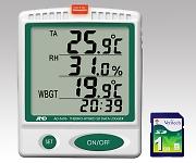 デジタル温湿度SDデータロガー AD5696