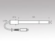 溶存酸素・温度計データロガー用交換プローブ DO9709SS